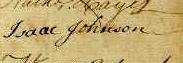 Isaac Johnson Signature