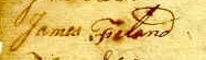 James Freeland Signature