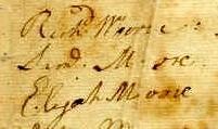Samuel Moore Signature